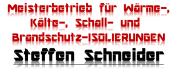 Sponsor Meisterbetrieb für Wärme-, Kälte-, Schall- und Brandschutz-ISOLIERUNGEN